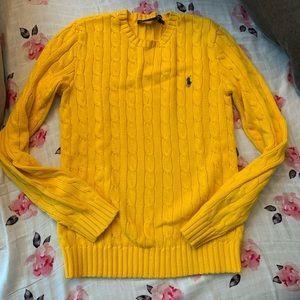 Ralph Lauren polo cable knit sweater